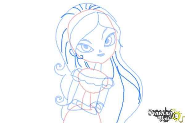 How to Draw Maria from The Book of Life - Step 7