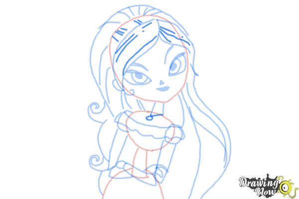 How to Draw Maria from The Book of Life - Step 8