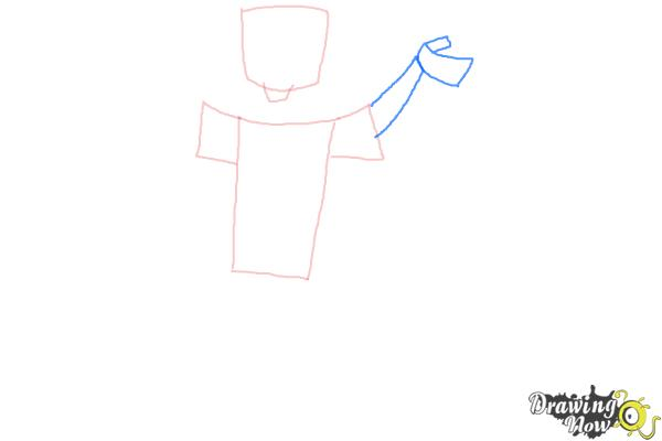 How to Draw Chris Mclean from Total Drama - Step 3
