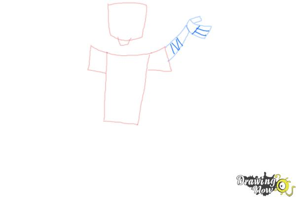 How to Draw Chris Mclean from Total Drama - Step 4