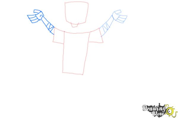 How to Draw Chris Mclean from Total Drama - Step 5