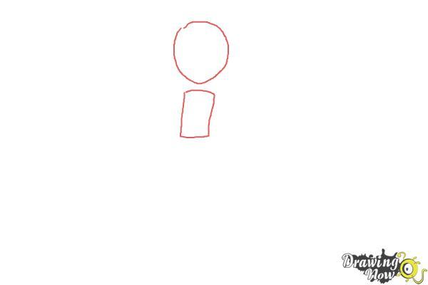 How to Draw Bonnie from Pokemon - Step 1