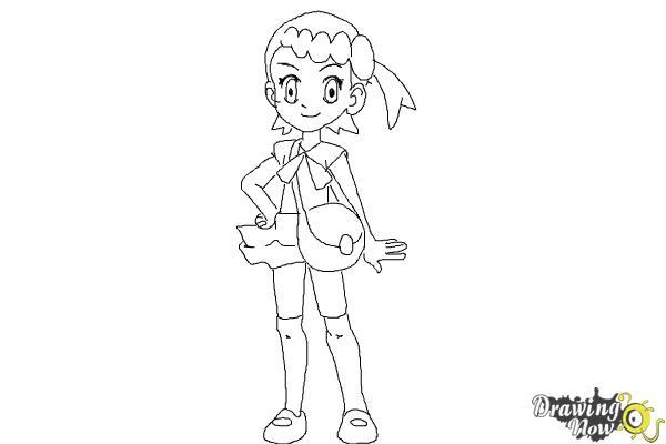 How to Draw Bonnie from Pokemon - Step 10