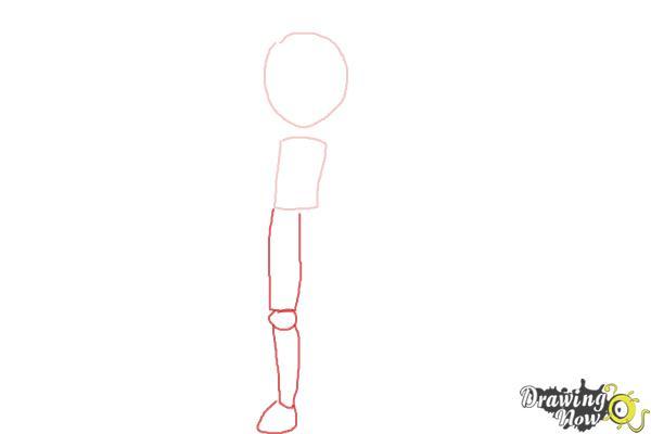 How to Draw Bonnie from Pokemon - Step 2