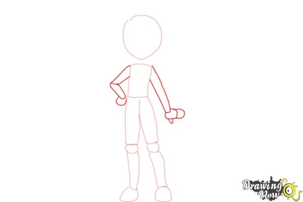 How to Draw Bonnie from Pokemon - Step 4