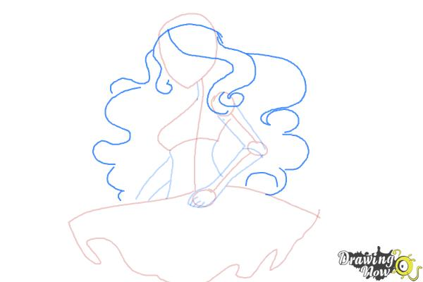 How to Draw Vandala Doubloons from Monster High - Step 5