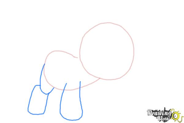 How to Draw Snips from My Little Pony Friendship Is Magic - Step 3