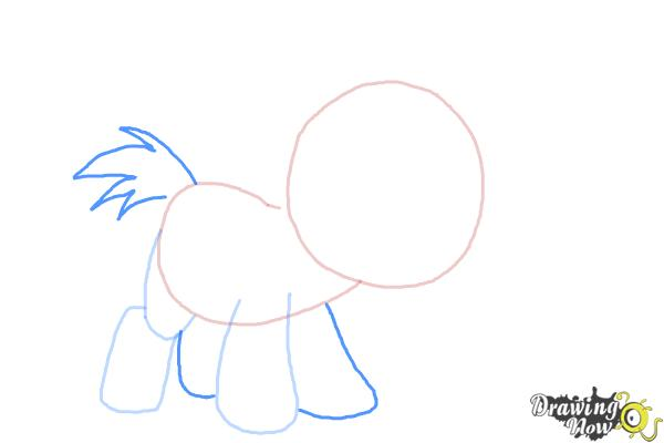 How to Draw Snips from My Little Pony Friendship Is Magic - Step 4