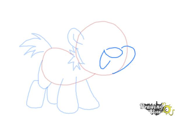 How to Draw Snips from My Little Pony Friendship Is Magic - Step 6