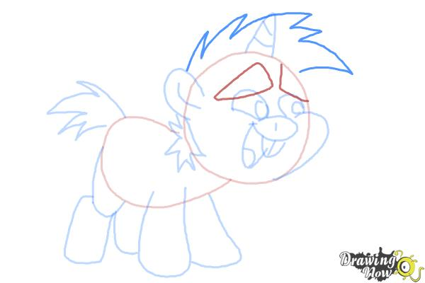 How to Draw Snips from My Little Pony Friendship Is Magic - Step 9