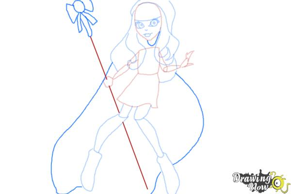 How To Draw River Styxx From Monster High