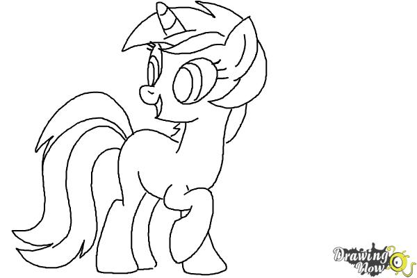 How to Draw Lyra Heartstrings from