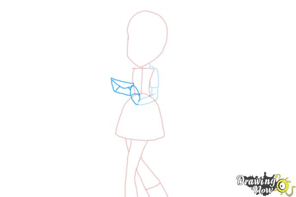 How to Draw Derpy from My Little Pony Equestria Girls - Step 5