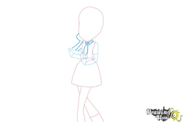 How to Draw Derpy from My Little Pony Equestria Girls - Step 6