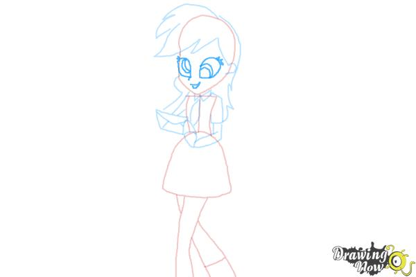 How to Draw Derpy from My Little Pony Equestria Girls - Step 8