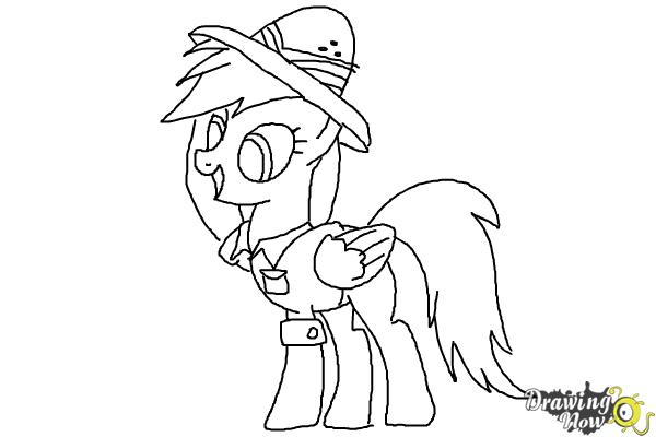 How to Draw Daring Do from My Little