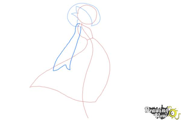 How to Draw Gardevoir from Pokemon - Step 4