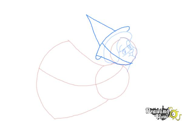 How to Draw Fauna from Sleeping Beauty - Step 5