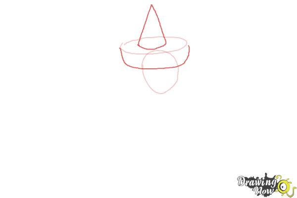 How to Draw Merryweather from Sleeping Beauty - Step 2