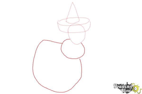 How to Draw Merryweather from Sleeping Beauty - Step 3