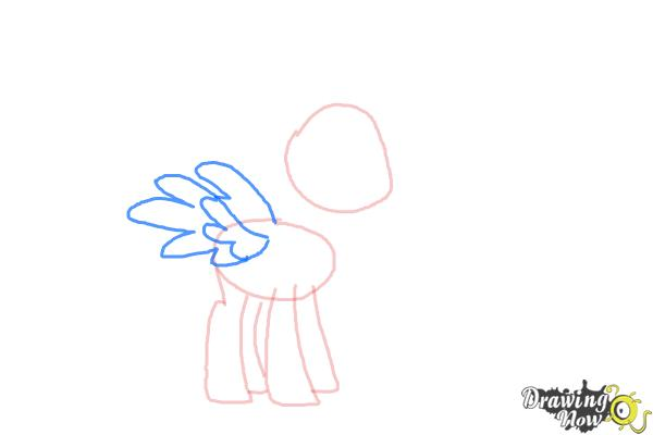How to Draw Spitfire from My Little Pony Friendship Is Magic - Step 4