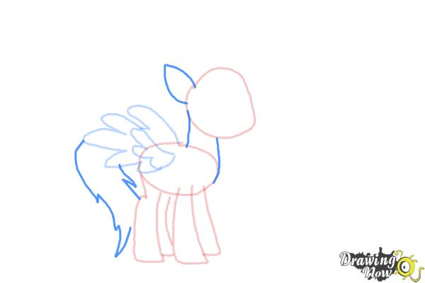 How to Draw Spitfire from My Little Pony Friendship Is Magic - Step 5