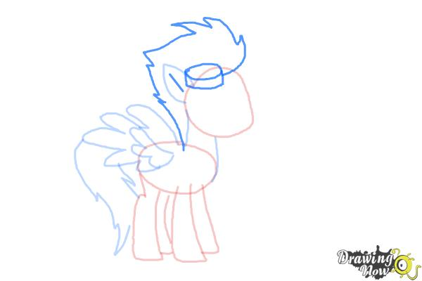 How to Draw Spitfire from My Little Pony Friendship Is Magic - Step 6