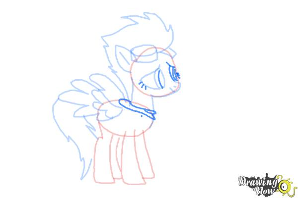 How to Draw Spitfire from My Little Pony Friendship Is Magic - Step 8