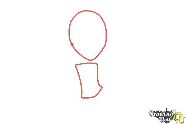 How to Draw Aria Blaze from My Little Pony Equestria Girls: Rainbow Rocks - Step 1