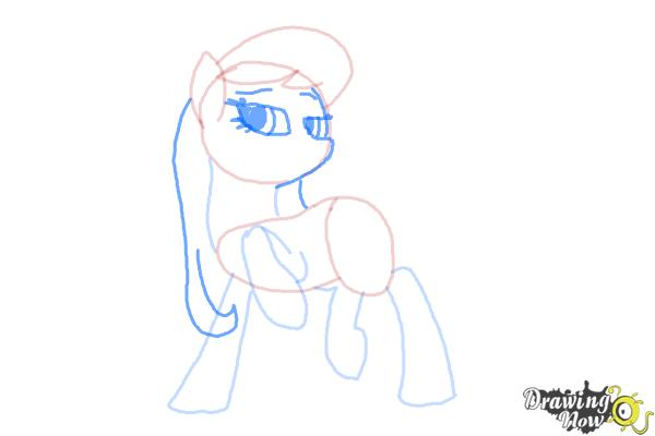 How to Draw Octavia, Octavia Melody from My Little Pony Friendship Is Magic - Step 6
