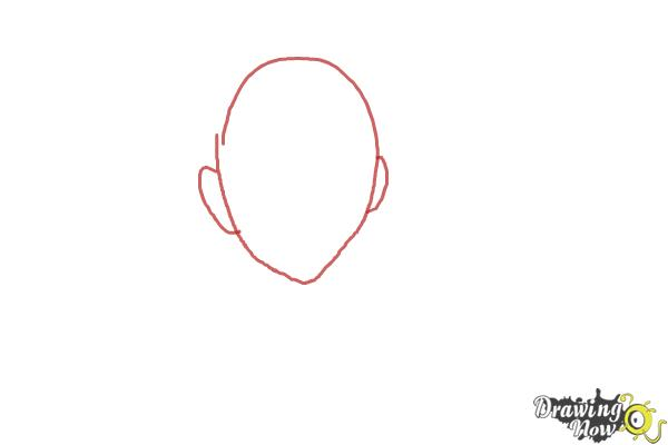 How to Draw Braz D. Blood from Blood Lad - Step 1