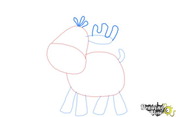 How to Draw a Moose For Kids - Step 5