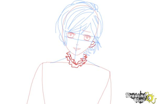 How to Draw Kanato Sakamaki Diabolik Lovers - Step 7