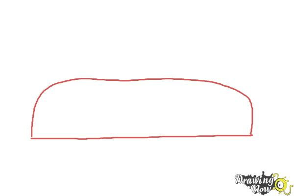 How to Draw Cars For Kids - Step 1