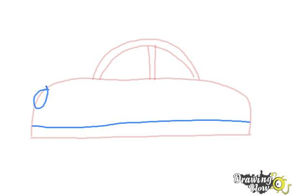 How to Draw Cars For Kids - Step 4