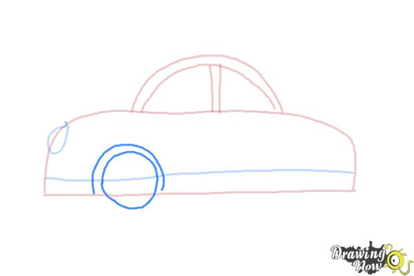 How to Draw Cars For Kids - Step 5