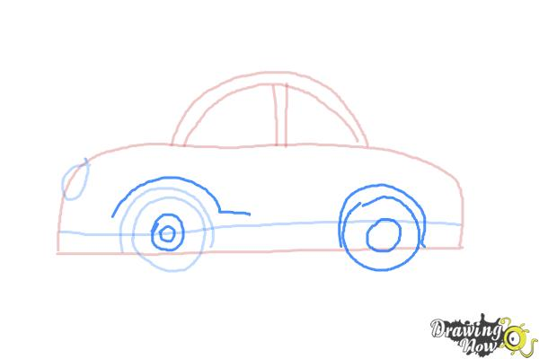 How to Draw Cars For Kids - Step 6