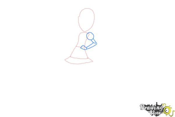 How to Draw Pixel Pizzaz from My Little Pony Equestria Girls - Step 3