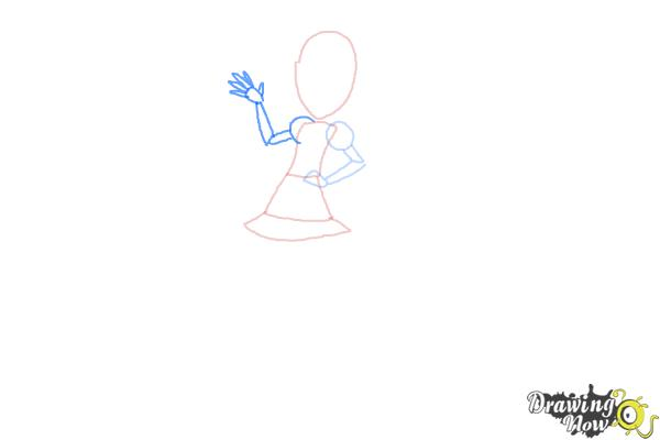 How to Draw Pixel Pizzaz from My Little Pony Equestria Girls - Step 4