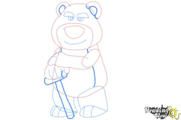 How to Draw Lotso, Disney Villain - Step 10