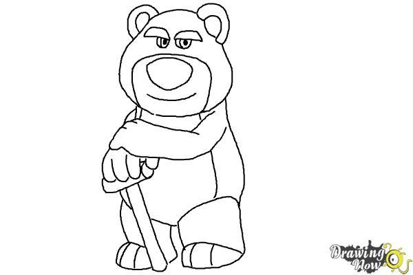 How to Draw Lotso, Disney Villain - Step 11