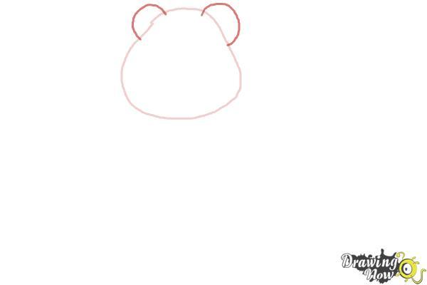 How to Draw Lotso, Disney Villain - Step 2