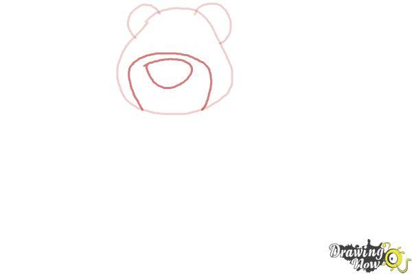 How to Draw Lotso, Disney Villain - Step 3