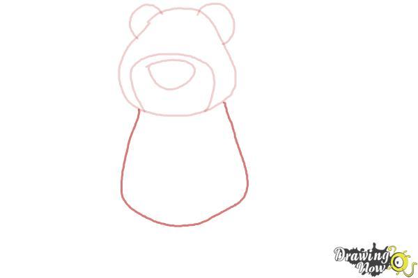 How to Draw Lotso, Disney Villain - Step 4