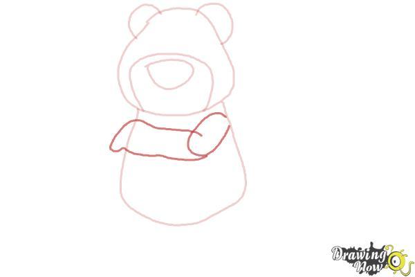 How to Draw Lotso, Disney Villain - Step 5
