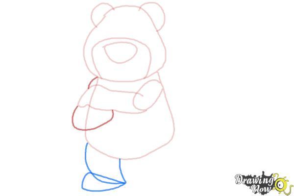 How to Draw Lotso, Disney Villain - Step 6
