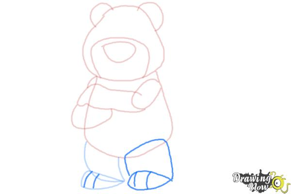 How to Draw Lotso, Disney Villain - Step 7