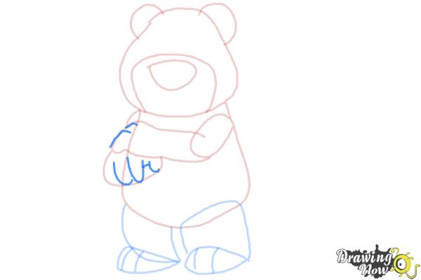 How to Draw Lotso, Disney Villain - Step 8