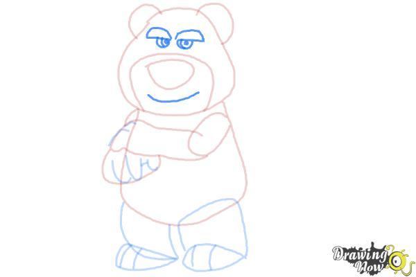 How to Draw Lotso, Disney Villain - Step 9