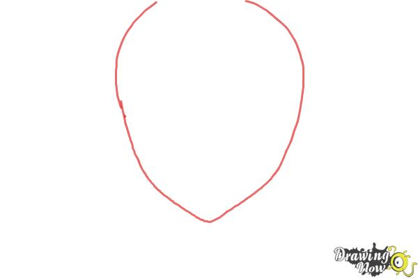 How to Draw Staz Charlie Blood from Blood Lad - Step 1
